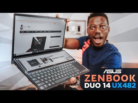 External Review Video cj3_smBgO9A for ASUS ZenBook Duo 14 (UX482) Dual-Screen Laptop (2021)