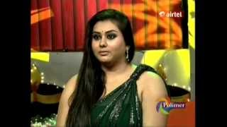 Download Video Namitha Showing Her Huge Clevage at Tv Show MP3 3GP MP4