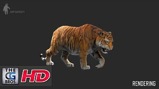 "CGI VFX Breakdowns : ""Making of Tiger for Lilyhammer""  – by Panoptiqm"