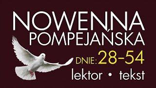 Nowenna Pompejańska - cz. DZIĘKCZYNNA | wersja SZYBSZA, z lektorem