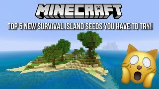 Top 5 New Survival Island Seeds Minecraft - Free video search site