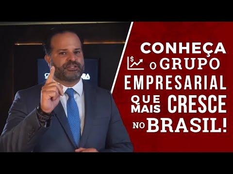 Conheça o grupo empresarial que mais cresce no Brasil