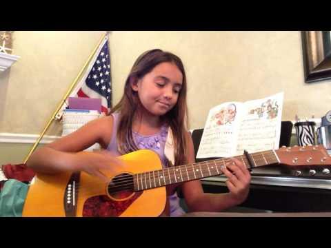 Mia - 1 year guitar student
