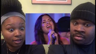 DEMI LOVATO  SORRY NOT SORRY LIVE/ACOUSTIC  REACTION
