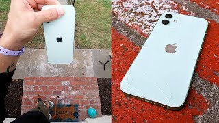 Apple iPhone 12 drop and scratch test
