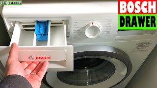 How to remove Dispenser Drawer on Bosch Washing Machine