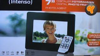 "Unboxing/First Look: Intenso Photo Agent 7"" Digitaler Bilderrahmen / Digital Photo Frame"