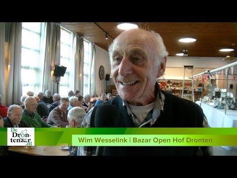 VIDEO | Voor Wim Wesselink is de bazar Open Hof in Dronten ieder jaar een feestje