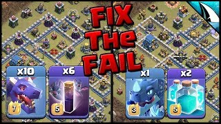 *FIX the FAIL* 12v12 Hello4Now in AWL | Clash of Clans