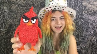 3Doodler Create Review & Angry Bird Red! 3D Pen Art