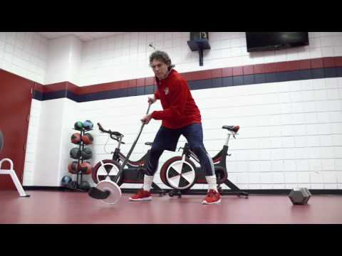 Jaromir Jagr Trains to Play NHL Hockey in his 40s