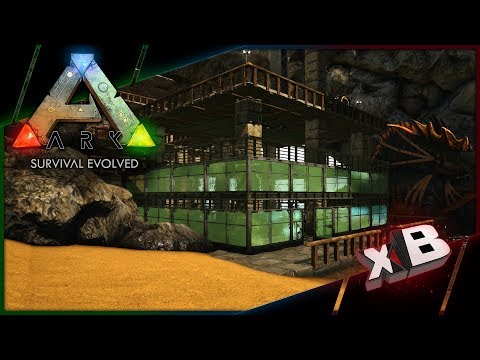 Green House Design Let S Play Ark Survival Evolved E30 Minecraftvideos Tv