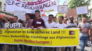 Germany: Protesters rally against reported restart of Afghan deportations