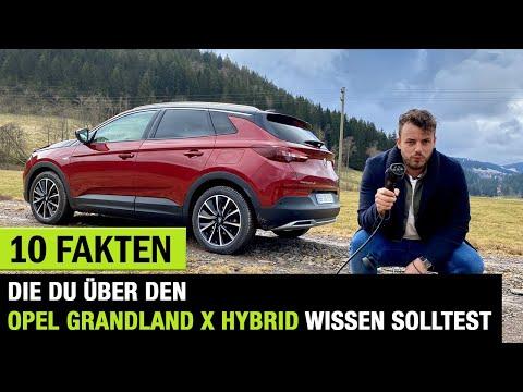 10 Fakten❗️die DU über den Opel Grandland X Hybrid wissen solltest! Fahrbericht   Review   Test 🔋🔌