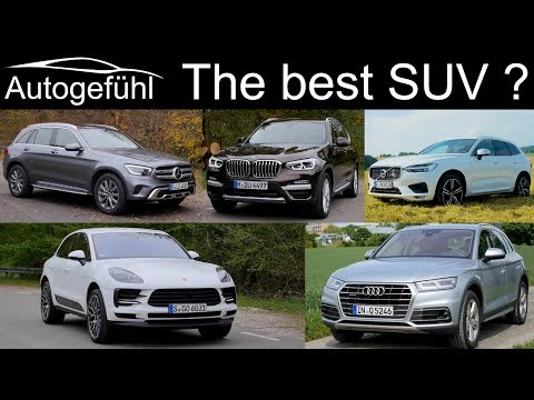 Porsche Macan vs Mercedes GLC vs BMW X3 vs Audi Q5 vs Volvo XC60 comparison REVIEW