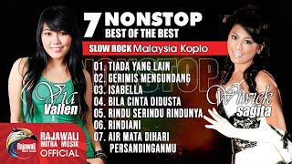 Via Vallen Feat Wiwik Sagita - 10 Best Slow Rock Koplo【Nonstop】- Full Album