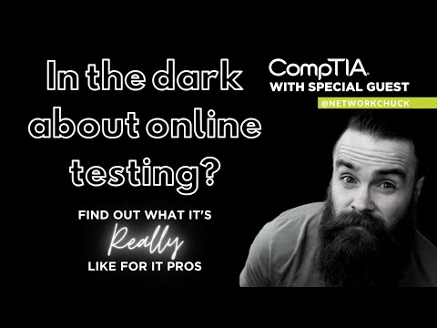 Live with Network Chuck: IT Certifications, Online Exams, and ...