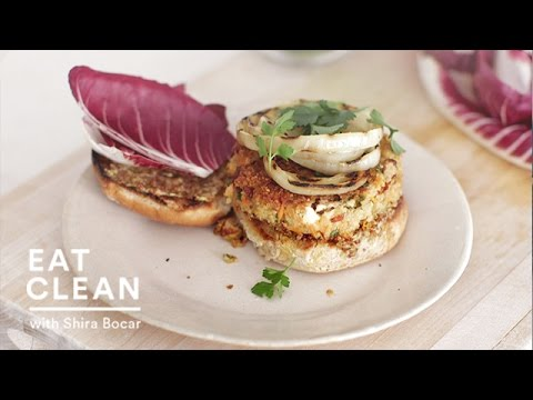 Meatless Quinoa and Feta Burgers – Eat Clean with Shira Bocar