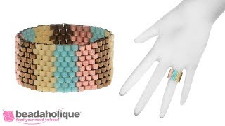 How to Make an Odd Count Peyote Stitch Ring