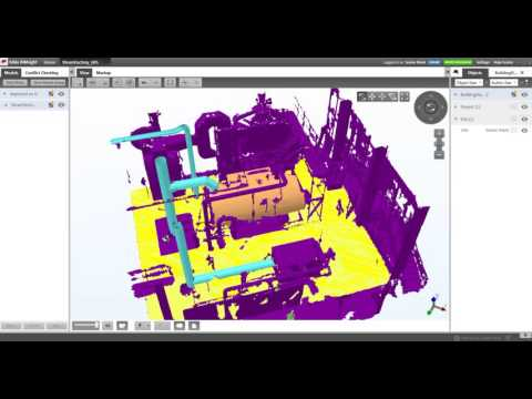 Pointfuse Generated 3D Models in Tekla Structures (BIM Sight)