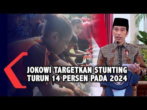 Jokowi Targetkan Kasus Stunting Turun 14 Persen Pada 2024