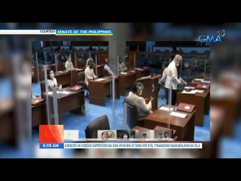 [GMA]  UB: Senado, planong mag-ECQ sa susunod na 2 linggo