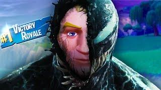 The voice of VENOM plays Fortnite!