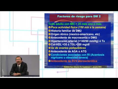 Cromo con diabetes mellitus tipo 2