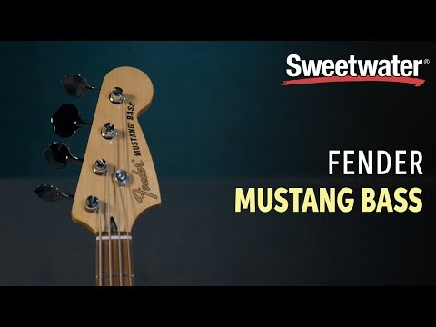 Fender Seafoam Green Mustang Bass (Sweetwater Exclusive) Review