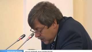 Заседание в Смольном. Tелеканал «100 ТВ»