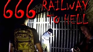 Haunted Railway Tunnel To Hell - 666 yds Long