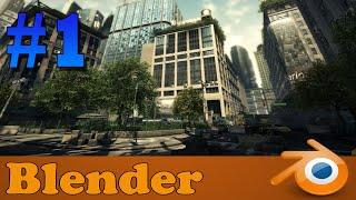 modelando cenário de jogo no blender!