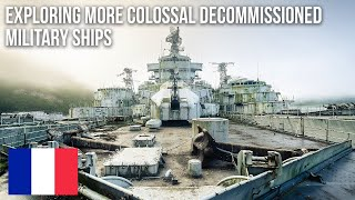 URBEX | Colossal decommissioned military ships | 2011-2015