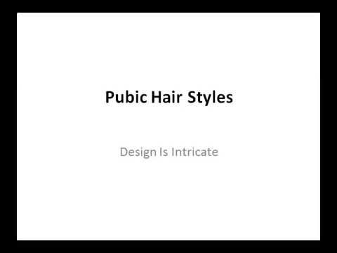 styles of pubic hair