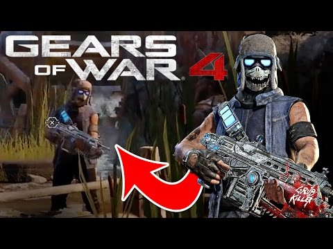 Gears Of War 4: New Carmine!? AKA Clayton's Son?!