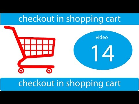 checkout in shopping cart