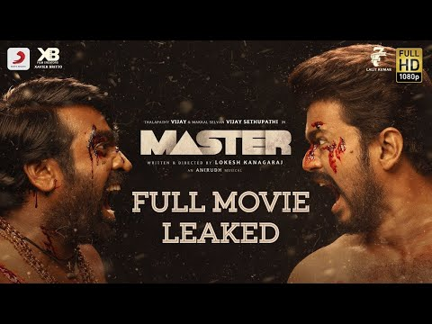 Master Full Movie Leaked || Thalapathy Vijay || Vi..