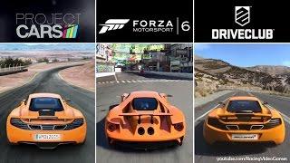 Forza 6 vs. DriveClub vs. Project CARS   Graphics, Rain & Weather Gameplay Comparison (PS4 & Xbox)