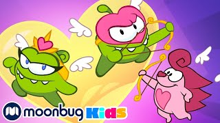 Om Nom Stories - Cupid's Bow: Valentines   Cut The Rope   Funny Cartoons for Kids & Babies   Moonbug