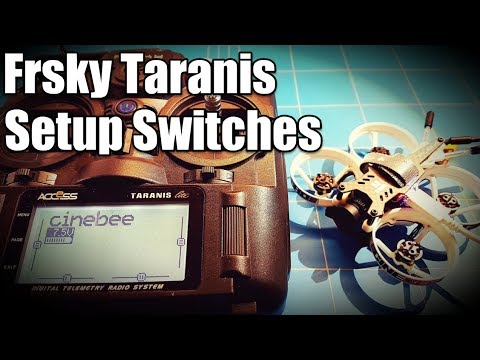 Frsky Taranis X9 Lite How To Setup Switches and AUX Channels in Betaflight with iFlight Cinebee 75hd