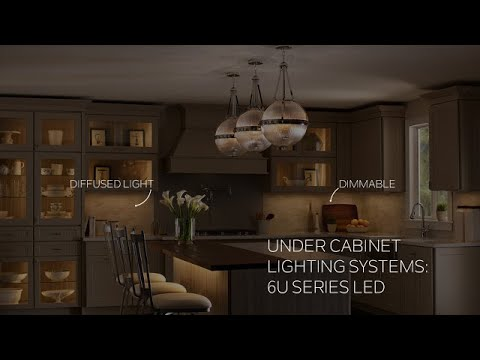 Video for 6UCSK22BZT Bronze Textured 6U LED 22-Inch Undercabinet Light