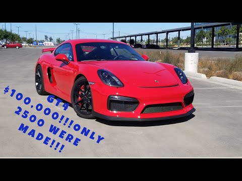 I Love The Porsche Cayman GT4! It's Worth $100,000! Full Review By Ran D