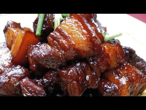 Chinese Style Glazed Pork Belly