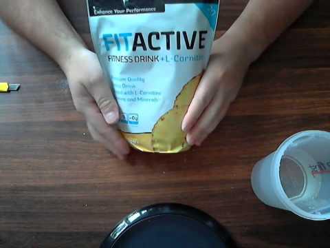 Посылка № 2. Fitnessbar ( VP Lab L-Glutamine /  VP Lab Fit Active+L-Carnitine )
