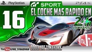 GT SPORT - EL COCHE MAS RAPIDO EN LE MANS #16   DODGE SRT TOMAHAWK X VGT    GTro_stradivar