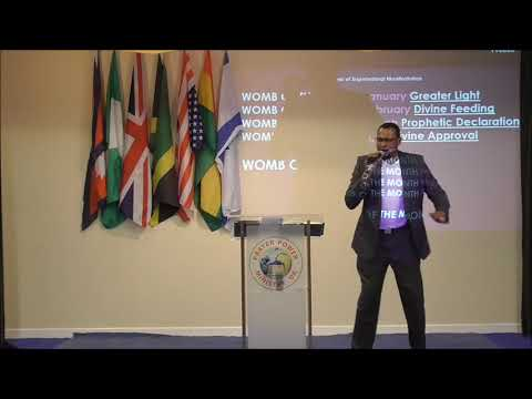 May 2019 the Womb of Moving Forward and Making it Happen by pastor John Ogbuagu