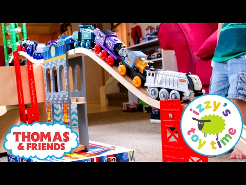 Thomas and Friends | Trackmaster Treasure Chase Wooden Railway Combo Track! Fun Toy Trains for Kids