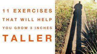 11 Exercises To Help You Grow 3 Inches Taller - Best Ways  to Get Taller in 2020