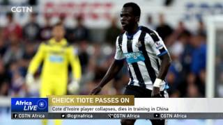 Former Newcastle United player dies in training in China