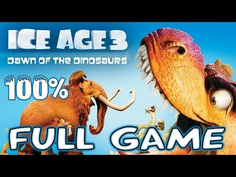 Download Ice Age 3: Dawn Of The Dinosaurs FULL GAME Movie 100% Longplay (PS3, X360, Wii, PS2, PC) HD Mp4 3GP Video and MP3